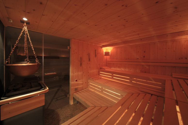 Sauna and relaxation